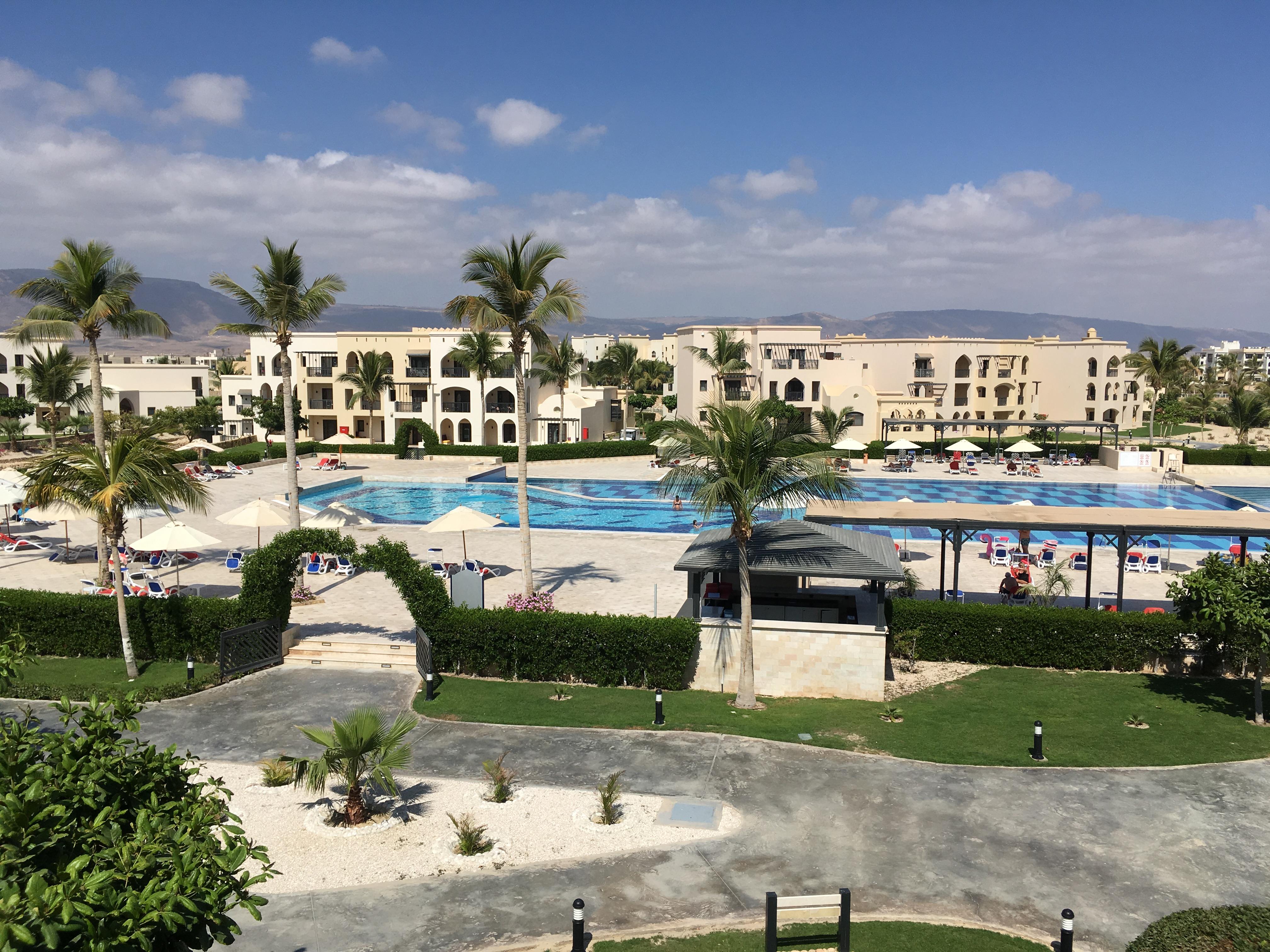 Hotelanlage in Salalah