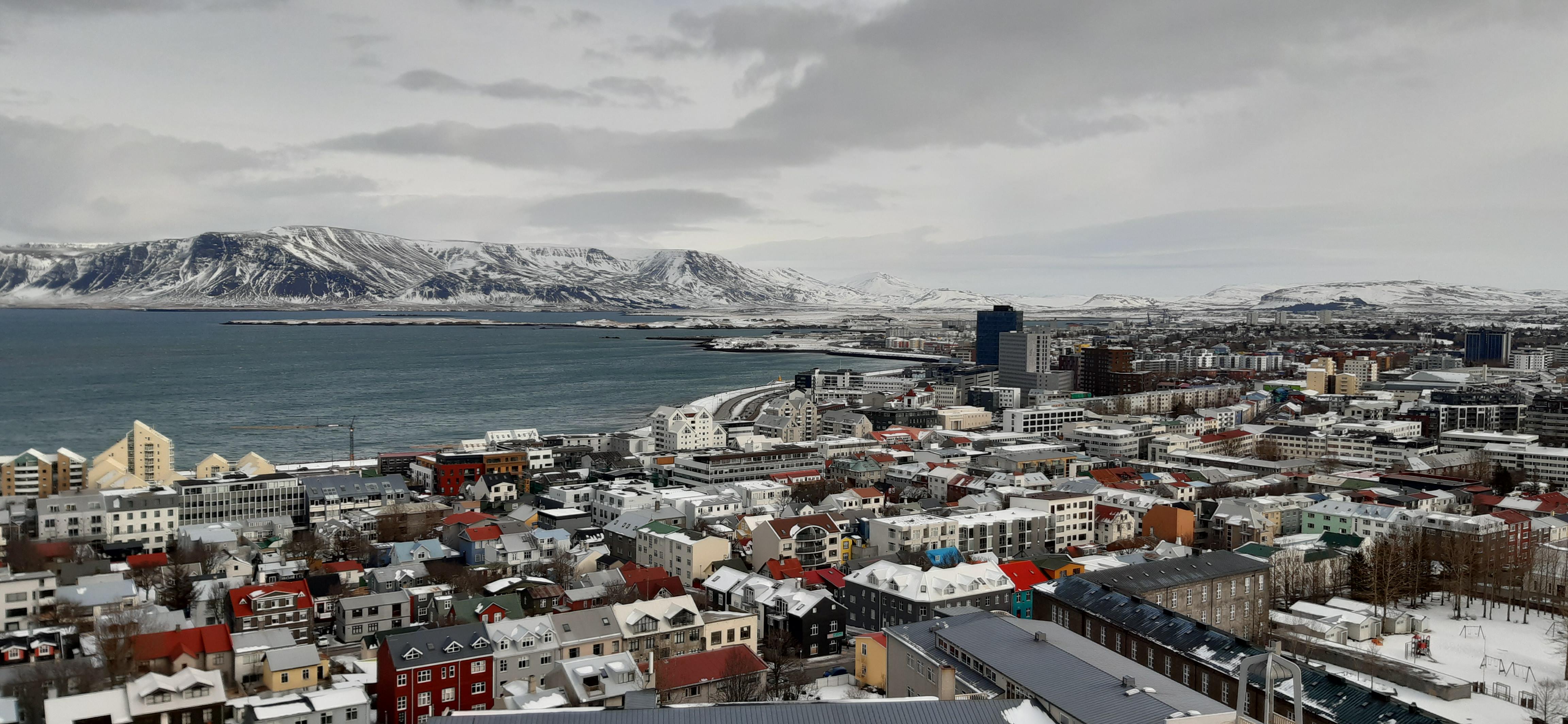 Reykjavik März 2020