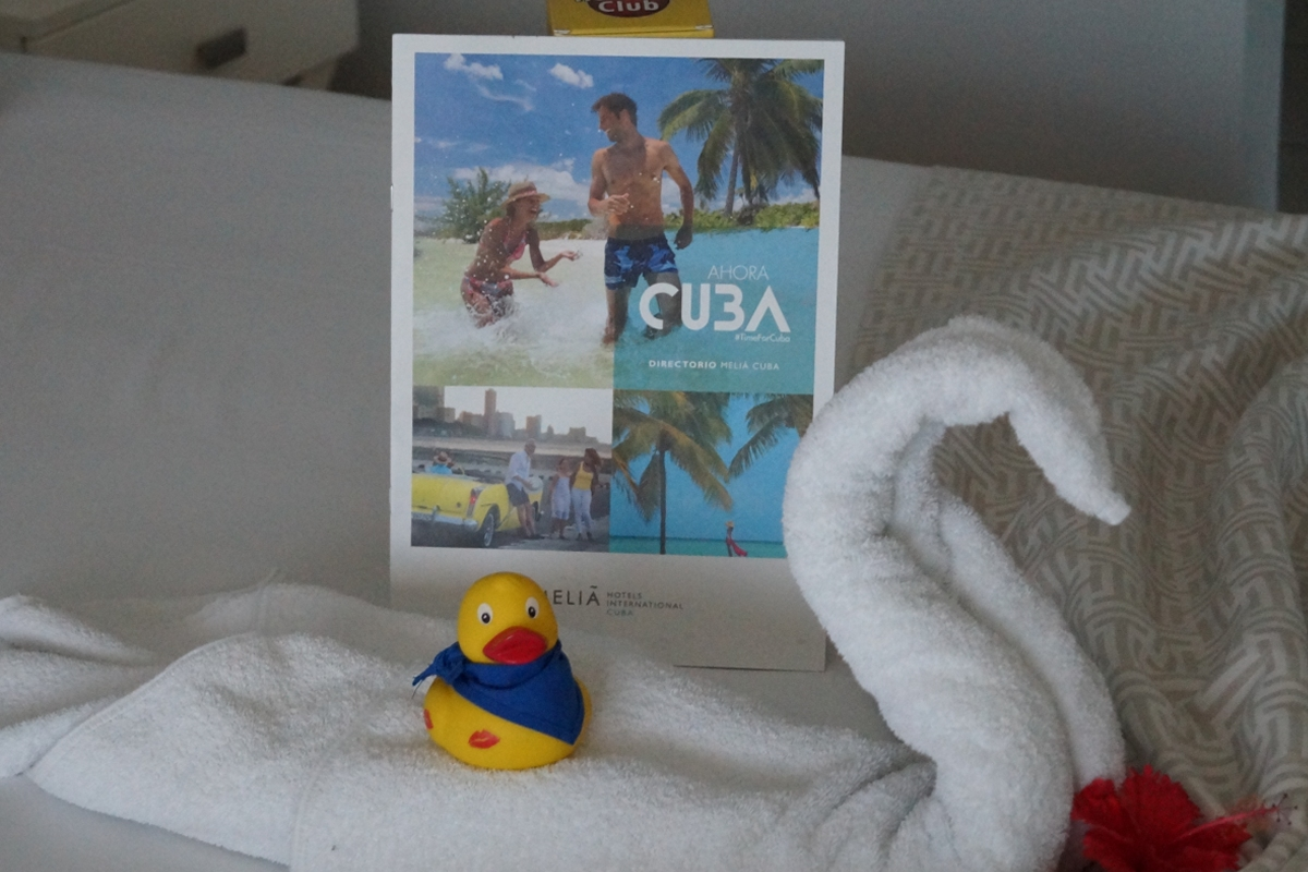 Ente in Kuba im Hotel